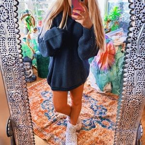 EB Varsity Forest Green Charcoal Grey Sweater ✨